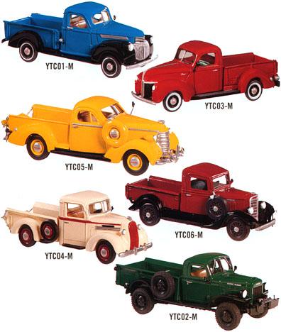 1930s & 1940s Pickups