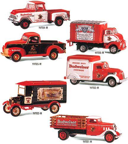 Budweiser Vintage Trucks