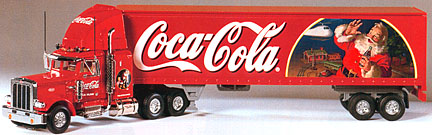 Coke Caravan Tracktor Trailer
